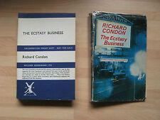 Richard Condon - Ecstasy Business 1967 uncorrected proof DJ Manchurian Candidate