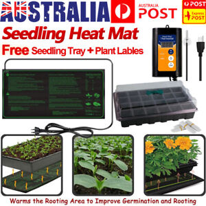 Seedling Heating Mat Plant Seed Germination Propagation Sprout Clone Starter Pad
