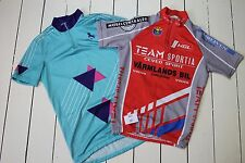 "2 x 36"" Chest Cycling Jerseys Vintage Short Sleeve Shirts Pre-owned (301)"
