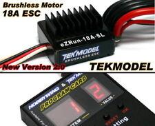 HOBBYWING EZRUN TEKMODEL RC Brushless Motor 18A ESC & Program Card CA069