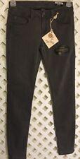 Rose Royce Women Size 26/30 Arianna Skinny Stretch Slate Gray Jeans