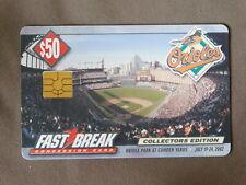 Chip Card used USA - Baseball / ORIOLES Concession Card opl 1000