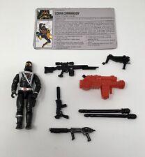 Gun GI Joe Figure Accessory 1993 Cobra Commander V6         Silver Heavy Rifle
