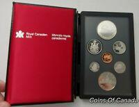 1986 Canada 7 Coin Prestige Silver Dollar PROOF Set - DEEP CAMEO #coinsofcanada