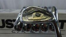 New Wilson Golf C300 Forged Irons 5-PW KBS Tour 105 Steel Shaft Stiff Flex