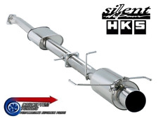 HKS Silent Hi-Power Cat Back Exhaust - For R34 GTT Skyline RB25DET NEO (Coupe)