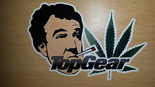 Stoned clarkson Weed Sticker decal Laptop, car, van, Top funny Rude jeremy Gear
