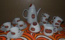service a café ou thé Vintage Bareuther , 1970 pop art  psychédélique space age
