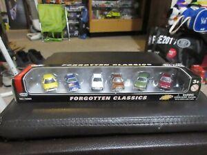 1:87 Motor Max Forgotten Classics Set Pacer Bobcat Tempo Escort Gremlin Pinto
