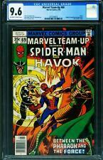 Marvel Team-up #69 CGC 9.6 Spider-Man Havok comic 1978 2070169016