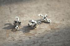 20pcs silver tone Umbrella Charms pendants 3D 20x13mm