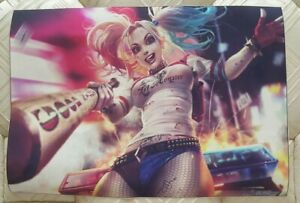 HARLEY QUINN Canvas Picture Print