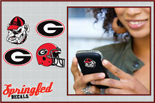 Georgia Bulldogs STICKERS COMBO 4 pack #1 Vinyl Decals Car Truck Cellphones UGA