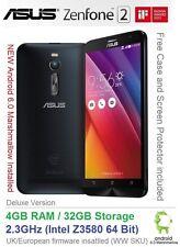 "ASUS Zenfone 2 5,5 ""Android 6 SMARTPHONE DUAL SIM 2,3 GHz, 4GB DI RAM 32GB ze551ml"