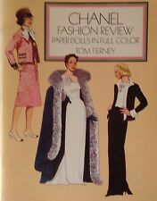 1986 CHANEL FASHION REVIEW Paper Doll Book - New & UNUSED - Tom Tierney