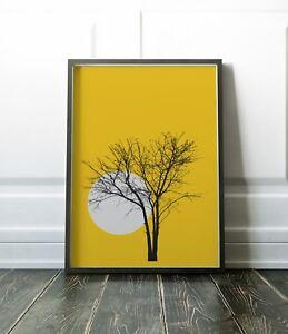 Tree Wall Art, Prints, Wall Art Print, Minimalist, Scandi Print, Minimalist Art