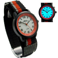 Teens or Mens Quartz Watch by Ravel with Bright EL Backlight Sports Strap 6b