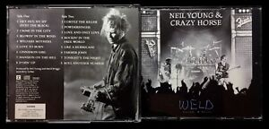 NEIL YOUNG & CRAZY HORSE / WELD  AUDIO - MUSIC 2 DISC SET & BOOKLET  LIVE