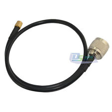 Extension Coax Pigtail Jumper Cable LMR240 N male plug to RP-SMA male 20in 50cm