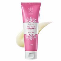 CRAZY SKIN Rice Scrub Peeling Pack for Lip & Face 130g Korea Cosmetics