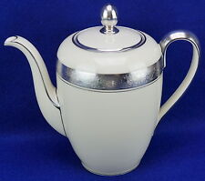 """New listing Haviland Platinum Encrusted Chariots Coffee Pot with Lid 7"""""""