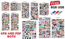 JDM VECTOR AND PDF IMAGE SET (VOLUMES 1-10) FREE 8GB USB,