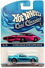 2015 Hot Wheels Cool Classics #30 '10 Ford Shelby GT500 Super Snake pink car