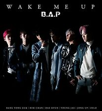 New B.A.P WAKE ME UP Type A CD DVD Japan KIZM-483 4988003503222