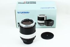 Voigtlander Macro Apo-Lanthar 125mm F/2.5SL M42 Lens EXCELLENT+ JAPAN/7885