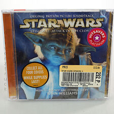 STAR WARS Episode II Attack of the Clones CD Rare Collectible YODA COVER 2002