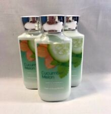 Bath Body Works 3 Cucumber Melon Lotion 8oz Body & Hand with Shea & Vitamin E