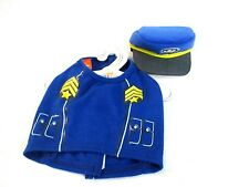 Build a Bear Accessory  Blue PAW Patrol Chase's Vest & Hat Set of 2 []