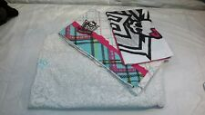 Mattel Monster High Bedding Full Size 3 Piece Sheet Set White Black Pink