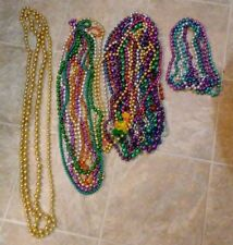 Lot of 27 Mardi Gras Beads Oversized, Long