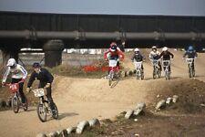 PHOTO  1984 SHOREHAM-BY-SEA SUSSEX BMX RACING VIEW 2