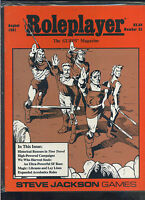 Roleplayer #25 August 1991 the Gurps Magazine Steve Jackson games RPG   MBX99