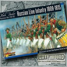 Warlord Games Russian Line Infantry 1809-1815 - 28mm Plastic Box Set - WGN-RU-01