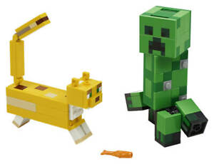 LEGO® Minecraft 21156 BigFig Creeper und Ozelot