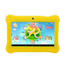 "iRULU Kids Tablet PC 7"" Android 4.4 8GB BabyPad Quad Core Dual Cam Earphone New"