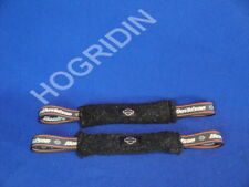 Harley Davidson softail touring dyna new 2 oem fleece soft straps MADE IN USA