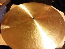 "RARE PAISTE TRADITIONAL SERIES 20"" LIGHT FLAT RIDE CYMBAL 2034 GRAMS W 6 RIVETS"