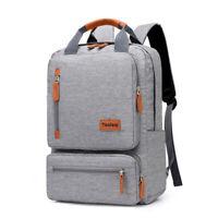 Men Backpack Casual Business Notebook Bag Light 15.6-inch Laptop Bag Anti-theft