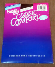Vintage Hanes too! Classic Comfort Pantyhose. Size Ab Classic Navy. New in Pkg.
