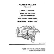 Lycoming Parts Catalog PC-203-1