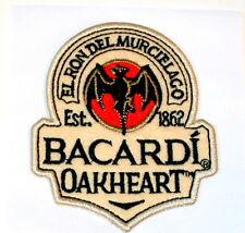 Set of 2 Bacardi Oakheart Rum Liquor Bat Patch New NOS Stick-on 2013 Sealed