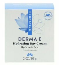 NEW DERMA E Hydrating Day Cream Hyaluronic Acid Gluten Free All Natural 2oz