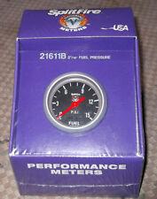 Universal splitfire performance meter fuel pressure gauge, black, (52mm) 21611B