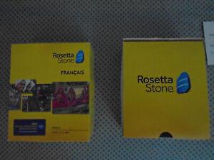 Rosetta Stone French Level 1-5 Vers 5 2014 Language Software Audio CD + Code!
