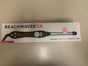 Beachwaver S.75 Ceramic Rotating Curling Iron New