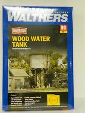 "Walthers/Cornerstone Ho U/A ""Wood Water Tank"" Plastic Model Kit"